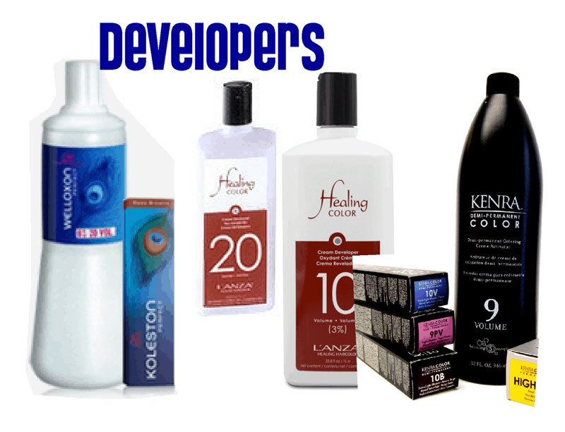 30 volume developer to lighten hair