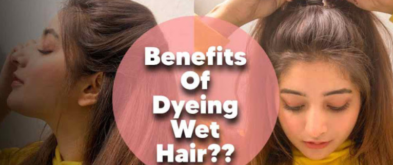 Put hair dye on wet hair: Yes or No 1