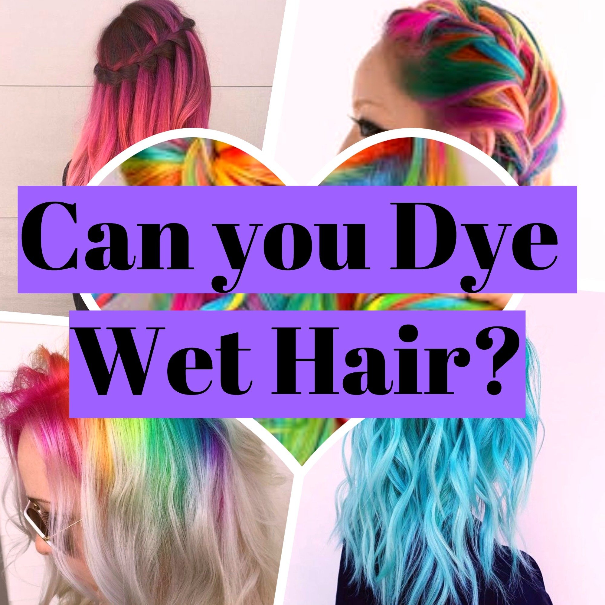 Put hair dye on wet hair: Yes or No 3